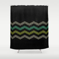 charlie Shower Curtains featuring Charlie by Last Call