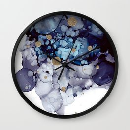 Clouds 4 Wall Clock