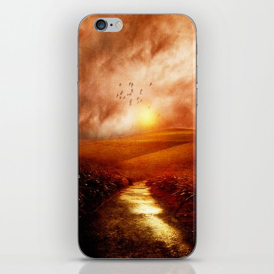 when the darkness, shine iPhone & iPod Skin