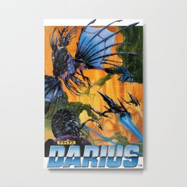 Darius Metal Print