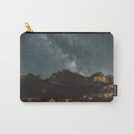 Space Night Mountains - Landscape Photography Carry-All Pouch