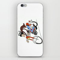 honda iPhone & iPod Skins featuring Honda CB50M 1968 by SeTtHe