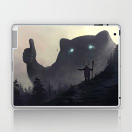 yo bro is it safe down there in the woods? yeah man it's cool Laptop & iPad Skin