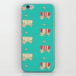 wozy_turq iPhone Skin