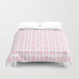 White Sapphires - Pink Duvet Cover
