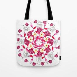 Bali Inspired Nature Mandala Tote Bag
