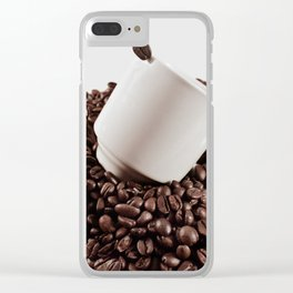 coffee bliss Clear iPhone Case