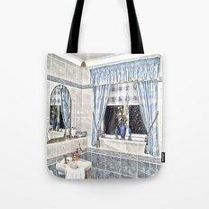 Bathroom Image Tote Bag