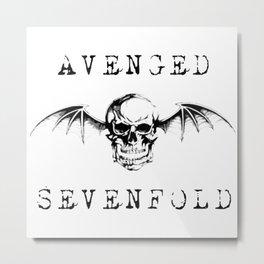 avenged band Metal Print