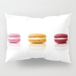 Red, Yellow, Pink, Macarons Pillow Sham