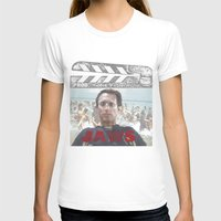jaws T-shirts featuring Jaws by Alan