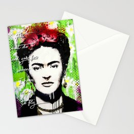 Frida fly Stationery Cards