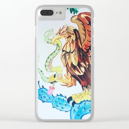The Wings of Mexico Clear iPhone Case