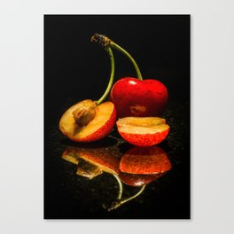 Fruit split Canvas Print