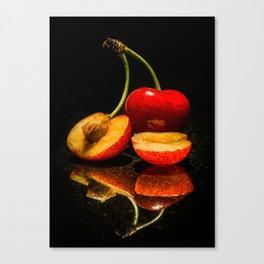 Fruit split Canvas Print