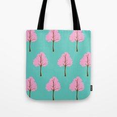 Pop Art Trees Tote Bag