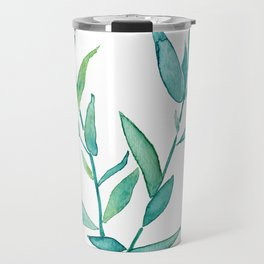 Bamboo Leaves Travel Mug