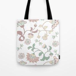 Oriental flowers Tote Bag