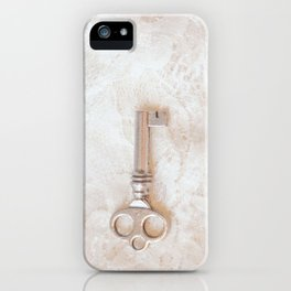 Key To My Heart iPhone Case