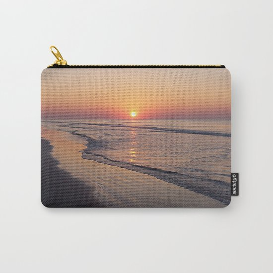 Sunrise Over The Atlantic Ocean Carry-All Pouch