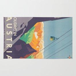 Vintage poster - Austria Rug