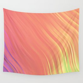 stripes wave pattern 1 clvi Wall Tapestry