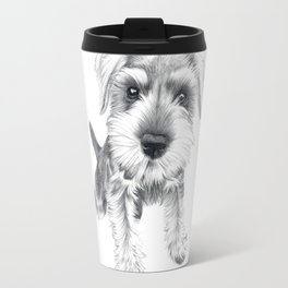 Schnozz the Schnauzer Travel Mug