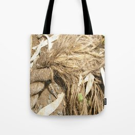 Fraying around the Edges Tote Bag