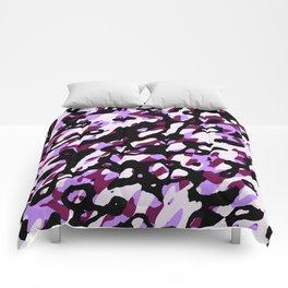Purple Camo Comforters