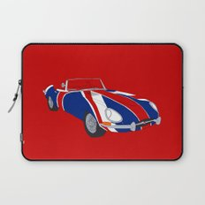 Shaguar (on Red) Laptop Sleeve
