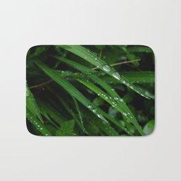 deep green dew III Bath Mat
