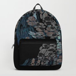 Elegant Stone Whirlwind Earth Elements Abstract Backpack