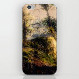 Misty Solitude, The Way Through The Woods iPhone Skin