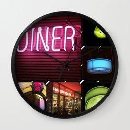Diner Wall Clock