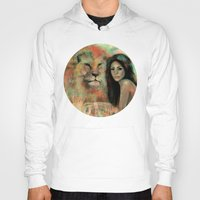 king Hoodies featuring King by Slaveika Aladjova