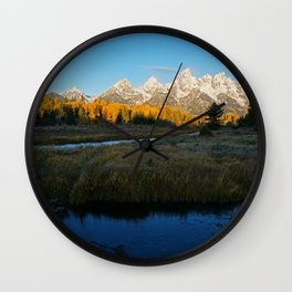 Autumn Sunrise Wall Clock