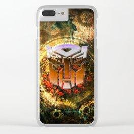 Steampunk Autobot Transform Clear iPhone Case