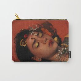 sleepin in red Carry-All Pouch