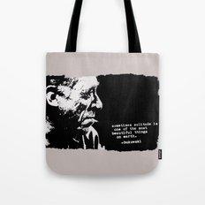 BUKOWSKI - solitude QUOTE Tote Bag