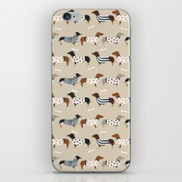 Dachshund doxie sweaters cute dog gifts dog breed dachsie owners must haves iPhone Skin
