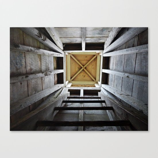 Up the Rung Ladder Canvas Print