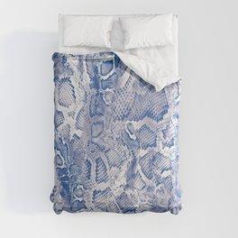 Blue Snakeskin  Comforters