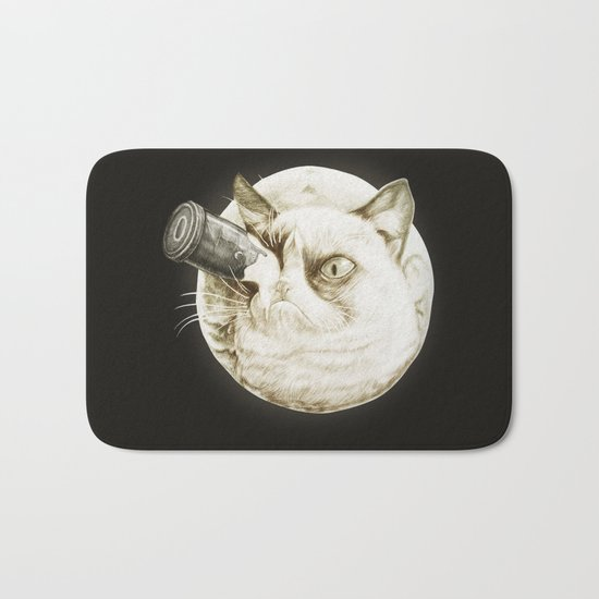 A Trip to the Moon Bath Mat