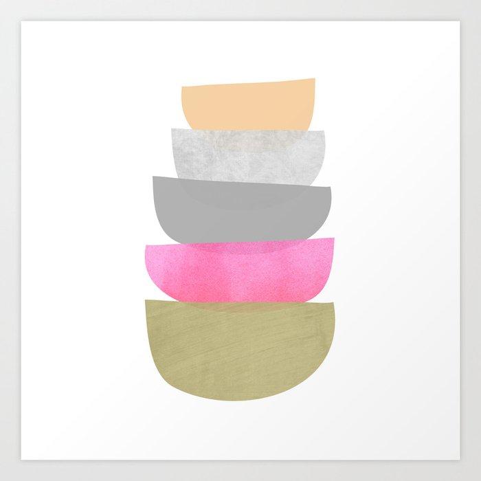 Balance, Mid Century Modern Art Kunstdrucke