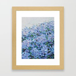 Nantucket Blues Framed Art Print