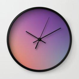 GUILTY  CONSCIENCE - Minimal Plain Soft Mood Color Blend Prints Wall Clock