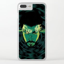 Mind-control powers in good use Clear iPhone Case