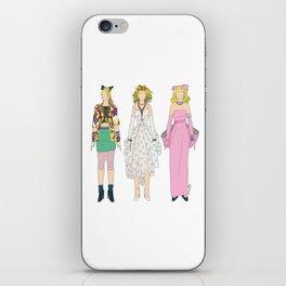 Triple Madge Material Girl iPhone Skin