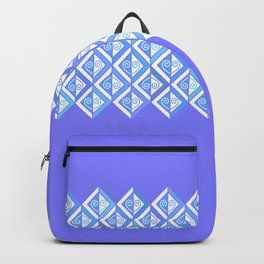 Diamond Graphic in Blues Backpack