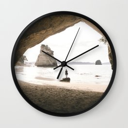 Cathedral Cove Wall Clock